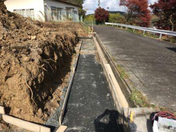 岐阜県可児郡御嵩町 S様邸 宅地造成工事着工しました。