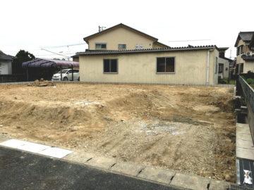 愛知県刈谷市の新築造成工事が完了しました。