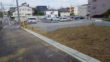 名古屋市千種区 分譲住宅 宅地造成001