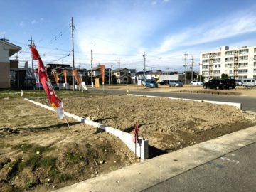 愛知県一宮市の宅地造成工事が完了しました。