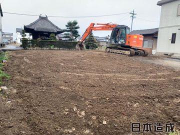 長久手市 A様邸 解体工事が完了致しました!日本造成