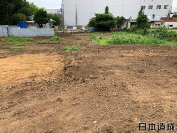 愛知県春日井市にてぶどう畑を解体工事・整地工事を行いました。廃材等の撤去・廃棄も同時に行っております。