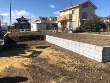 各務原市の宅地造成工事が完了いたしました。