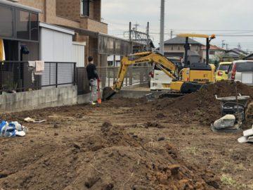 愛知県小牧市のK様邸の新築造成工事が終了いたしました。