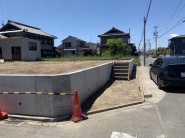 名古屋市港区I様 擁壁工事 完成写真