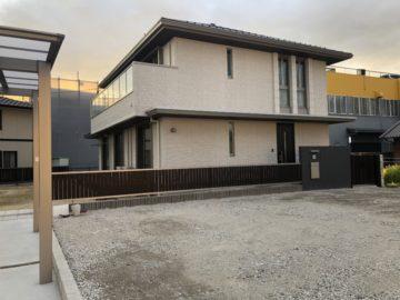 愛知県春日井市H様邸 解体工事 解体・整地後写真 砂利敷き