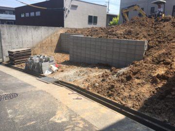 愛知県 名古屋市 緑区 T様邸 新築造成工事