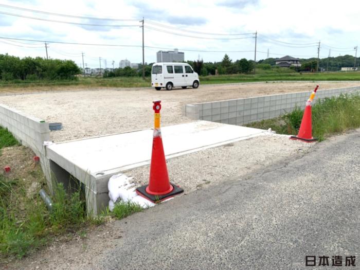 愛知県長久手市にて造成工事・水路橋工事が完成いたしました。日本造成
