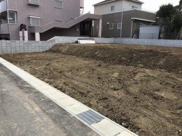 名古屋市千種区 分譲住宅 宅地造成003